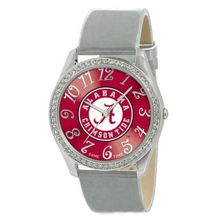 Game Time NCAA Alabama Crimson Tide Women's Glitz Patent Leather Watch