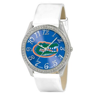 Game Time NCAA Florida Gators Women's Glitz Patent Leather Watch