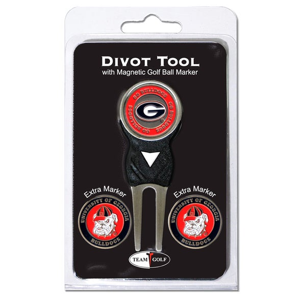 NCAA Georgia Bulldogs Golf Divot Tool Pack