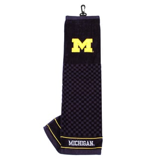 NCAA Michigan Wolverines Embroidered Golf Towel