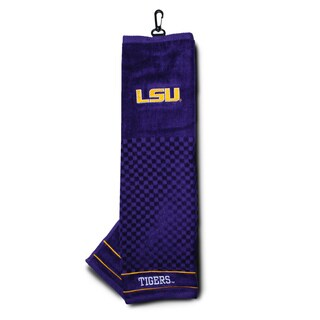 NCAA LSU Tigers Embroidered Golf Towel