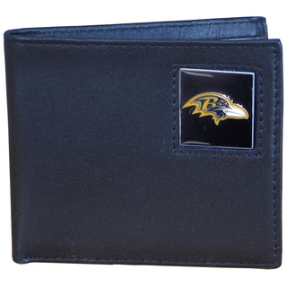 NFL Baltimore Ravens Leather Bi-fold Wallet