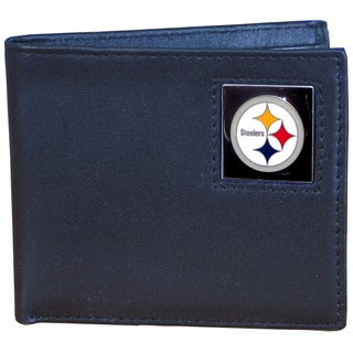 NFL Pittsburgh Steelers Leather Bi-fold Wallet