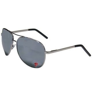 MLB Philadelphia Phillies Aviator Sunglasses