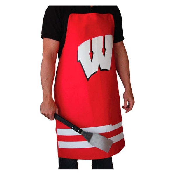 NCAA Wisconsin Badgers Heavyweight Jersey Apron