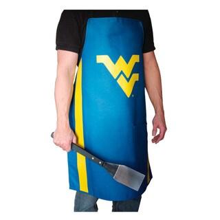 NCAA West Virginia Mountaineers Heavyweight Jersey Apron