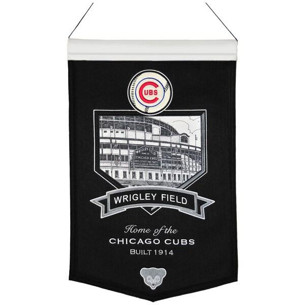 MLB Chicago Cubs Wrigley Field Wool Stadium Banner