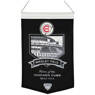 MLB Chicago Cubs Wrigley Field Wool Stadium Banner
