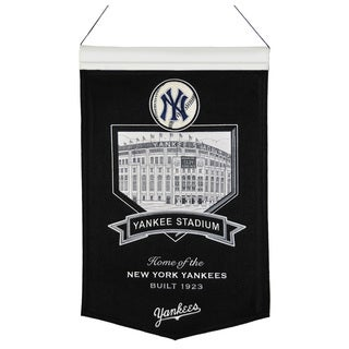 MLB New York Yankees Yankee Stadium Wool Banner