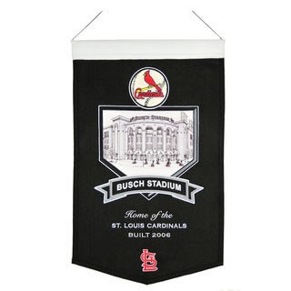 MLB St. Louis Cardinals Busch Stadium Wool Banner