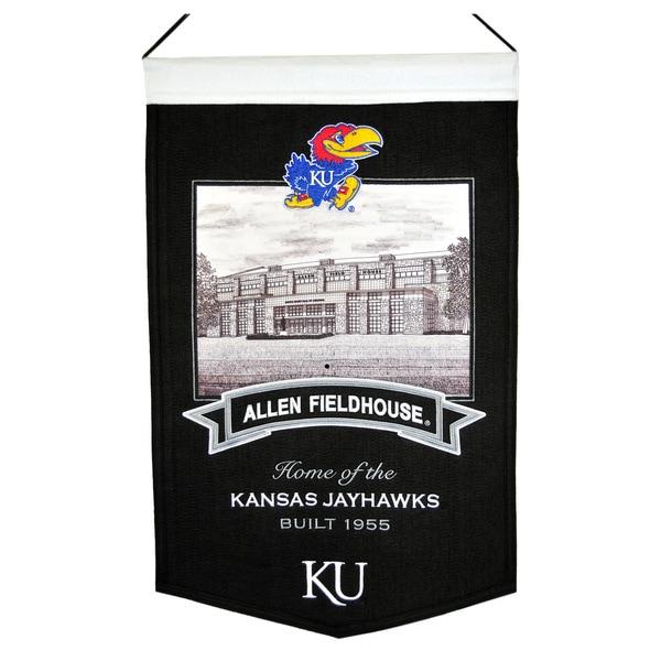 NCAA Kansas Jayhawks Wool Stadium Banner 12058983