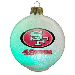 NFL San Francisco 49ers Color Changing LED Ornament