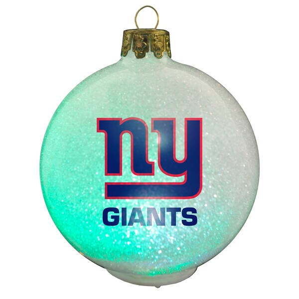 NFL New York Giants Color Changing LED Ornament