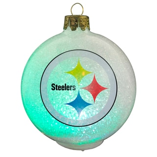 NFL Pittsburgh Steelers Color Changing LED Ornament