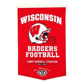 NCAA Wisconsin Badgers Wool Powerhouse Banner
