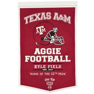 NCAA Texas AM Aggies Wool Powerhouse Banner
