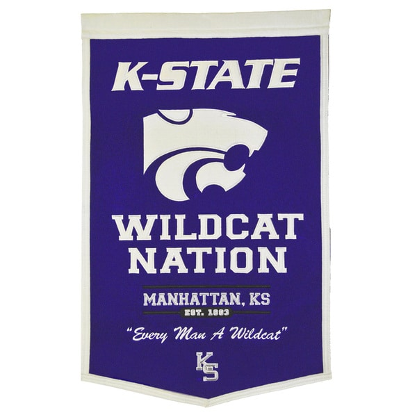 NCAA Kansas State Wildcats Wool Powerhouse Banner 12059056