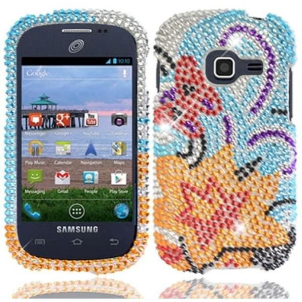 BasAcc Yellow Lily Diamond Case for Samsung Galaxy Centura S738C