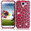 BasAcc Pink Leopard Diamond Case for Samsung Galaxy S4 i9500