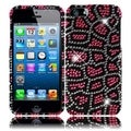 BasAcc Pink Leopard Diamond Case for Apple iPhone 5