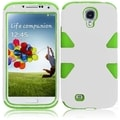 BasAcc White/ Neon Green Case for Samsung Galaxy S4 i9500