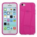 BasAcc Hot Pink Basketball Texture Candy Skin Case for Apple iPhone 5C