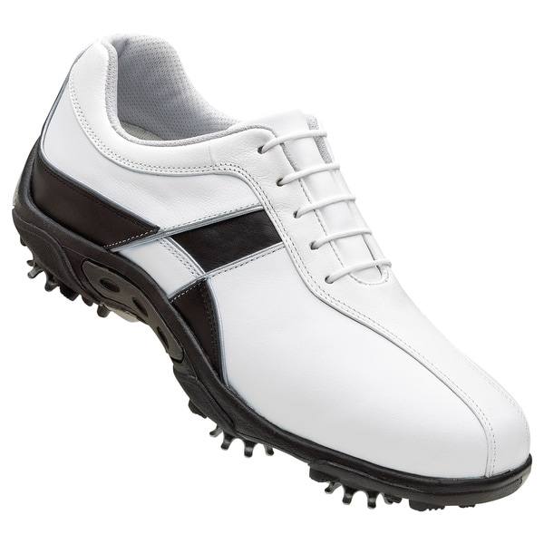 footjoy summer series white and black golf shoes