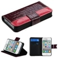 BasAcc MyJacket Wallet Case for Apple iPhone 4S/ 4