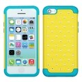 BasAcc Yellow/ Tropical Teal Lattice Case for Apple iPhone 5C