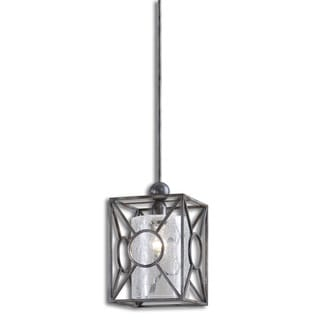 Arbela 1-light Rust Black Mini Pendant