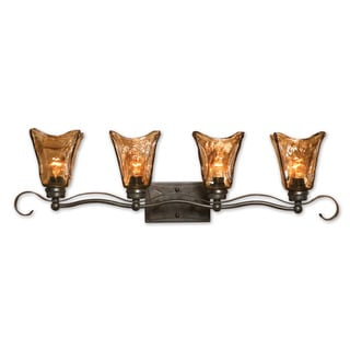 Uttermost Vetraio 4-light Oil Rubbed Bronze Vanity Strip