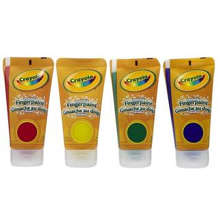 Crayola 4-ounce Washable Bold Colors Fingerpaints