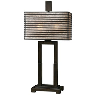 Becton 2-light Oil Rubbed Bronze Table Lamp