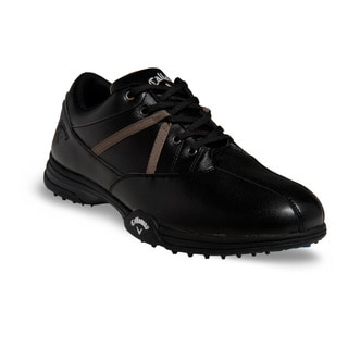 Callaway Chev Comfort Men's Black and Brown Golf Shoes