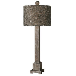 Sedilo 1-light Burnished Bronze Table Lamp