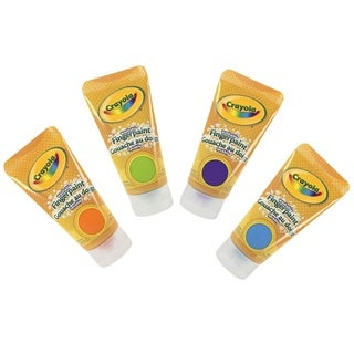 Crayola 4-ounce Washable Bright Colors Fingerpaints