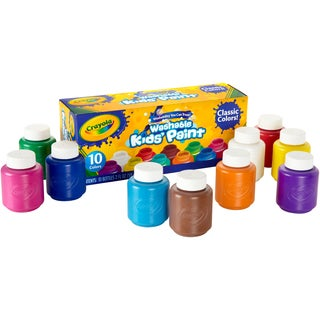 Crayola 2-ounce Washable Kids Paint Bottles