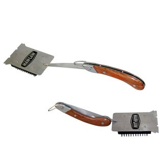 Man Law BBQ Folding Brush