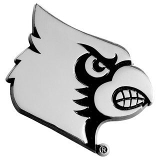 Louisville Chromed Metal Emblem