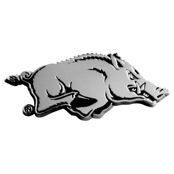 Arkansas Chromed Metal Emblem