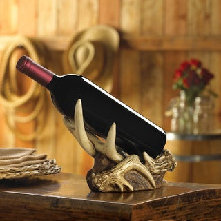 Antler Wine Bottle Holder