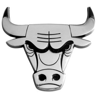 NBA Chicago Bulls Chromed Metal Emblem