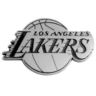 NBA Los Angeles Lakers Chromed Metal Emblem