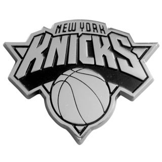 New York Knicks Chromed Metal Emblem