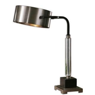 Belding 1-light Brushed Aluminum Buffet Lamp