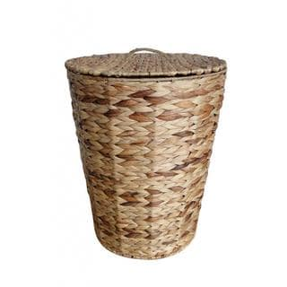 Organize It All Water Hyacinth Hamper