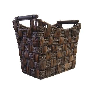 Organize It All Water Hyacinth Medium Tapered Basket