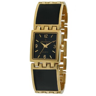 Peugeot Women's Gold-Tone Bracelet Watch