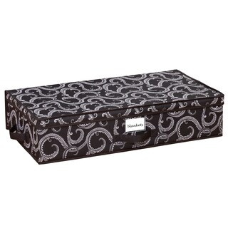 Marchmont Black Under Bed Storage Box