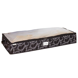 Space Saver Zipper Marchmont Black UnderBed Storage Bag
